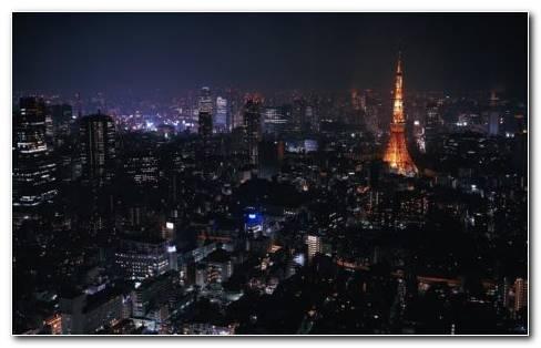 Tokyo Night HD Wallpaper