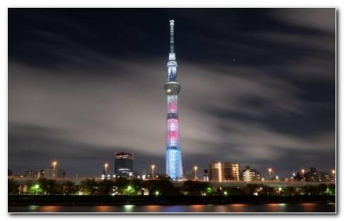 Tokyo Tower Japan HD Wallpaper