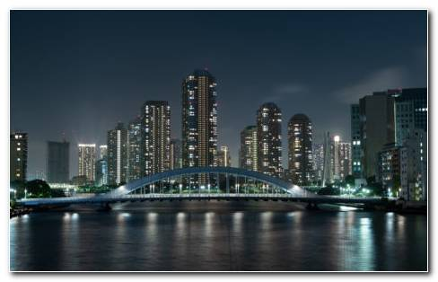 Tokyo City HD Wallpaper
