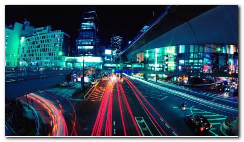 Tokyo Lights HD Wallpaper