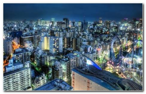 Tokyo World HD Wallpaper