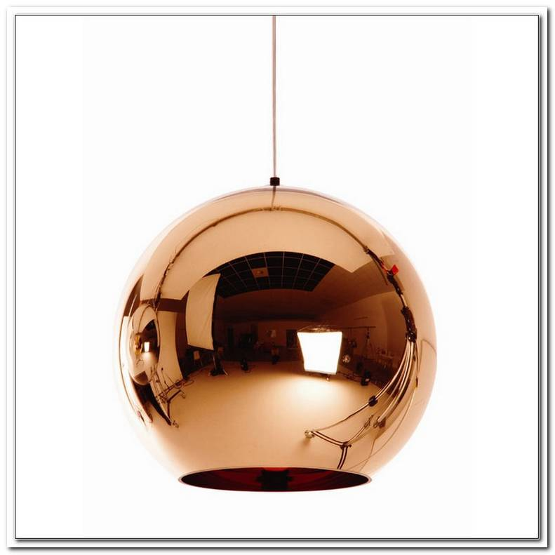 Tom Dixon Copper Lampe
