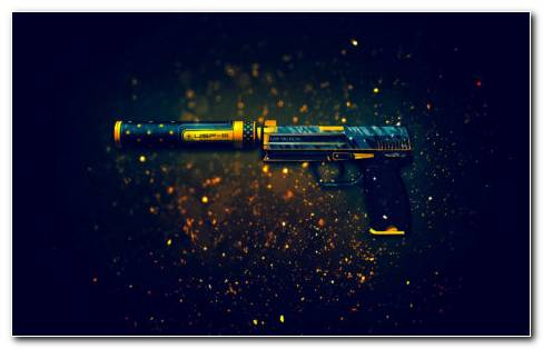 Toy Pistol HD Wallpaper