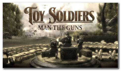 Toy Soldiers Game HD Wallpaper