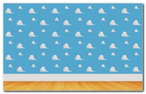 Toy Story wall pattern HD wallpaper