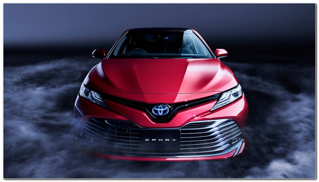 Toyota Camry Backgrounds