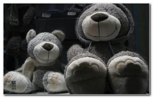 Toys Bears Set HD Wallpaper