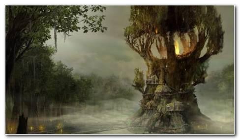 Treehouse HD Wallpaper