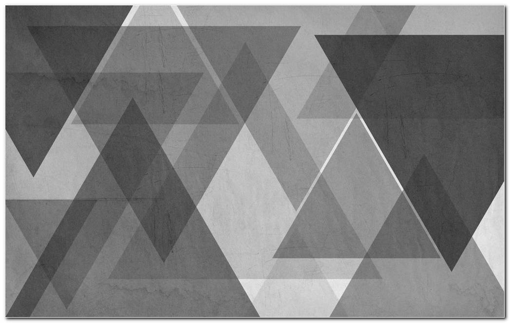 Triangle Grey Background Wallpaper