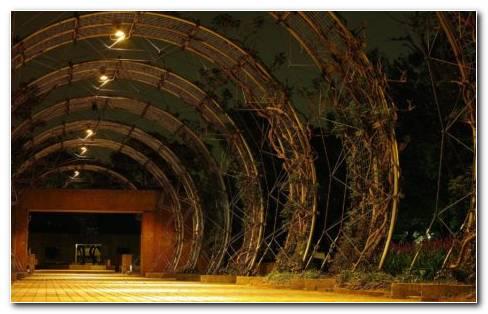 Tunel Architecture HD Wallpaper