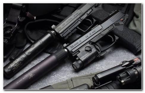 Two Mark 23 Pistols