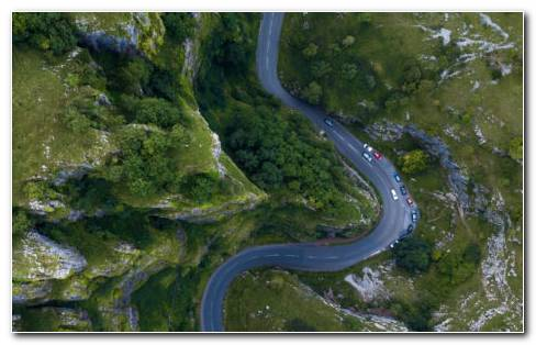 Types of roads HD wallpaper