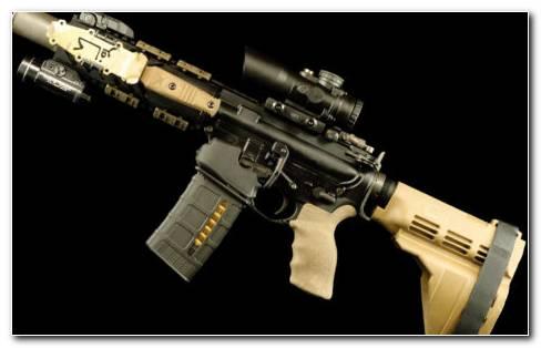 US Military Rifles HD Wallpaper