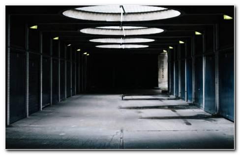 Underground Tunnel HD Wallpaper