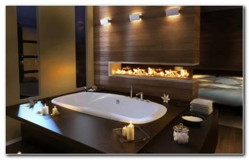 Unique Bathroom Interior HD Wallpaper
