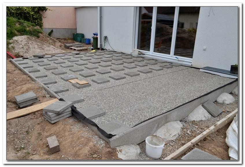 Unterbau Terrassenplatten