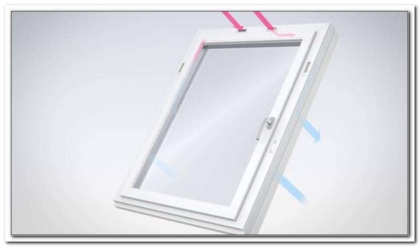 Veka Fenster Mit Integrierter LFtung