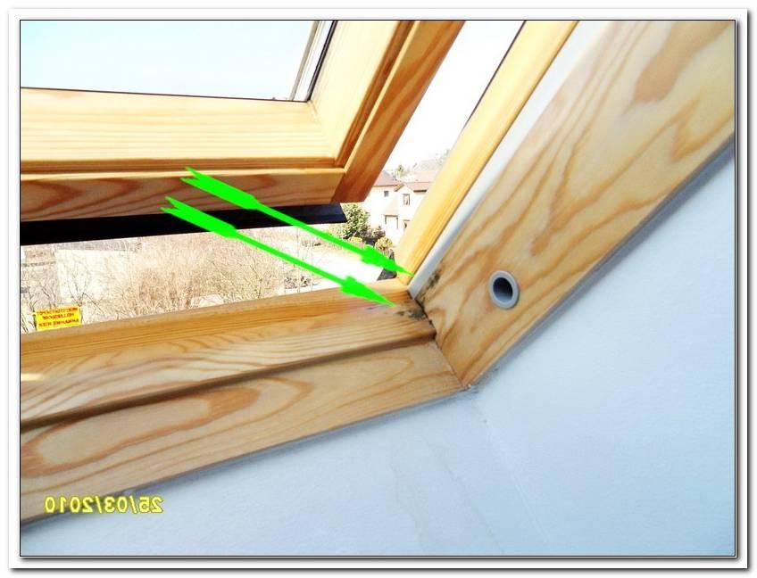 Velux Fenster Abdichten