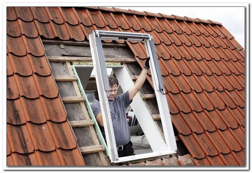 Velux Fenster Einbauen Lassen