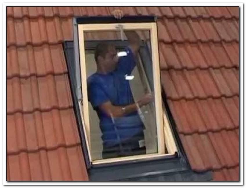 Velux Fenster Selber Einbauen