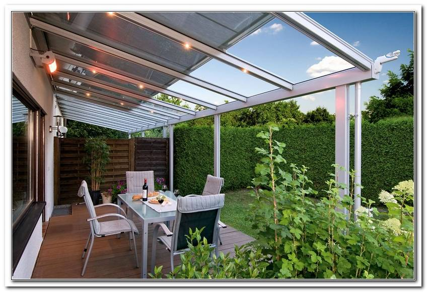 Verschiebbare Terrassen?Berdachung Selber Bauen