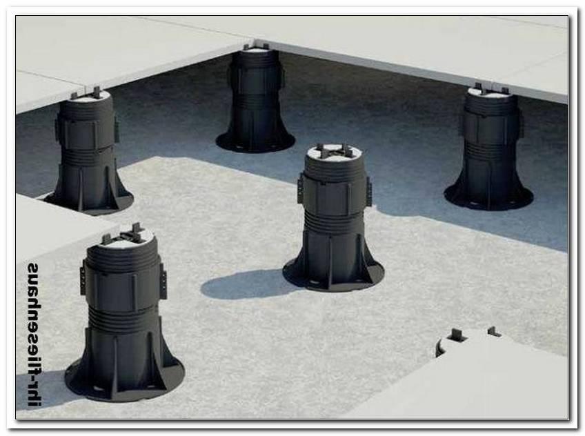 Verstellbare Plattenlager Terrassenplatten