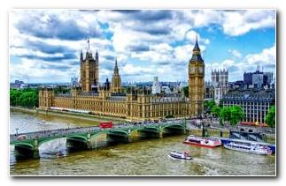 View Of Westminster Palace And City London 4k Ultra Hd Wallpaper