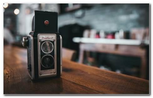 Vintage Camera HD Wallpaper