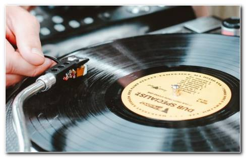 Vinyl Record Player HD Wallpaper