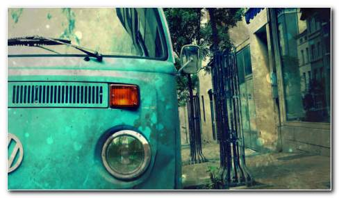 Volkswagen Type 2 HD Wallpaper