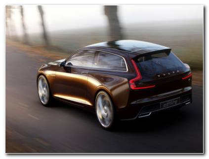 Volvo Concept Estate HD wallpaper