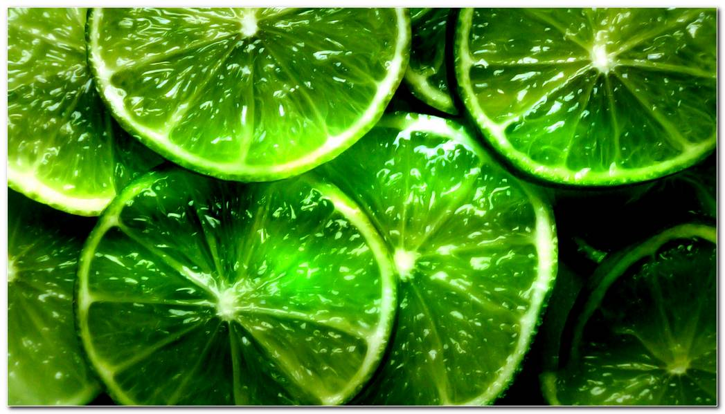 Wallpaper Lime  Segments  Slices  Green