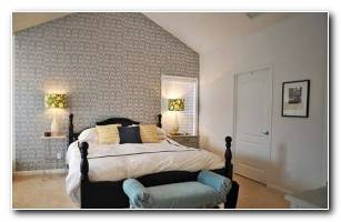 Wallpapered Bedrooms