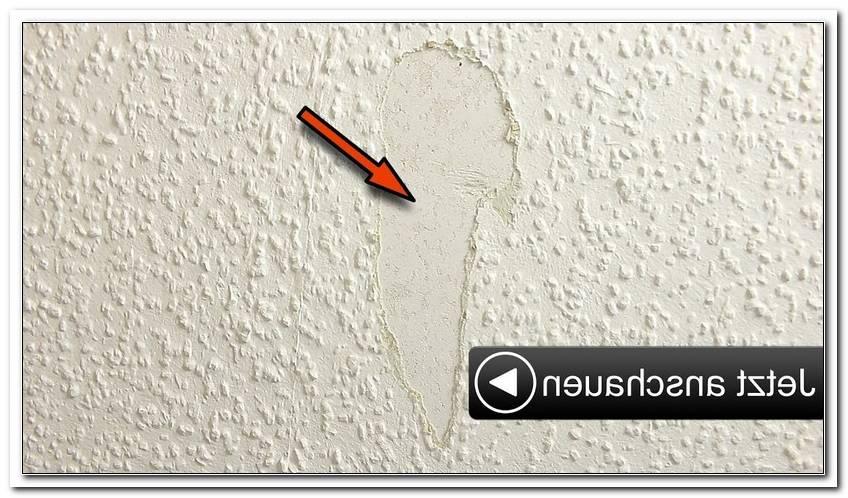 Wand Ausbessern Farbe
