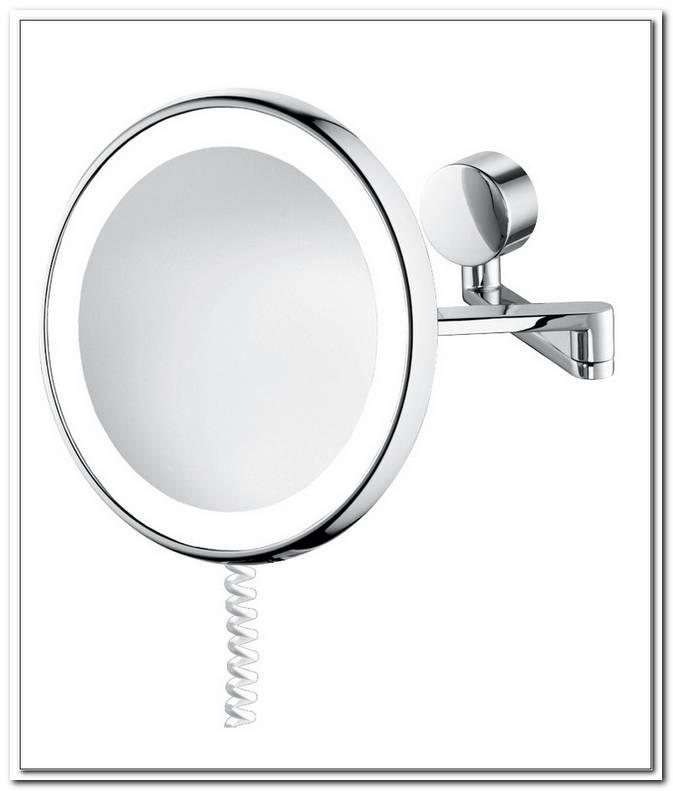 Wand Kosmetikspiegel 7 Fach Beleuchtet