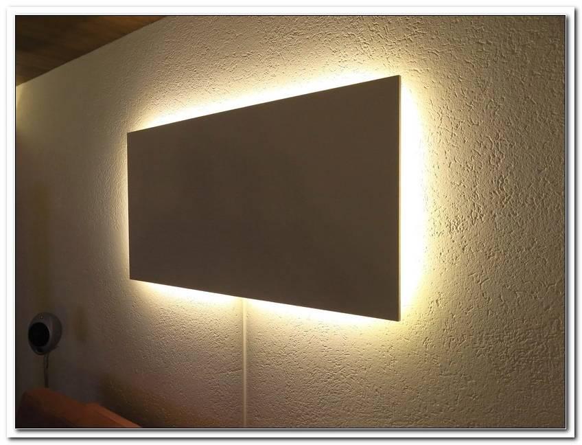 Wandbild Mit Indirekter Beleuchtung