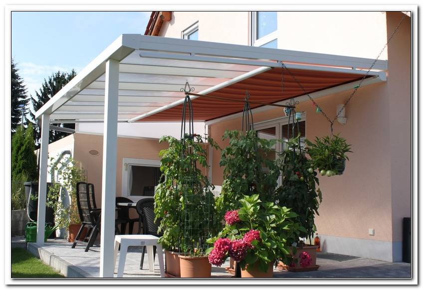 Was Kostet Eine Terrassen?Berdachung Mit Markise