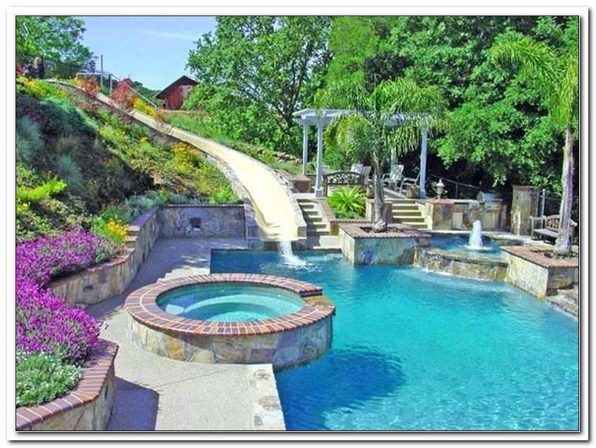 Wasserrutsche F?R Garten Pool