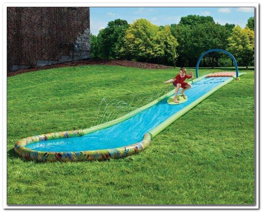 Wasserrutsche FR Garten