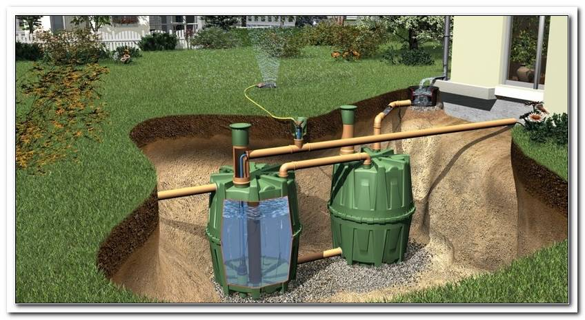 Wassertank F?R Den Garten