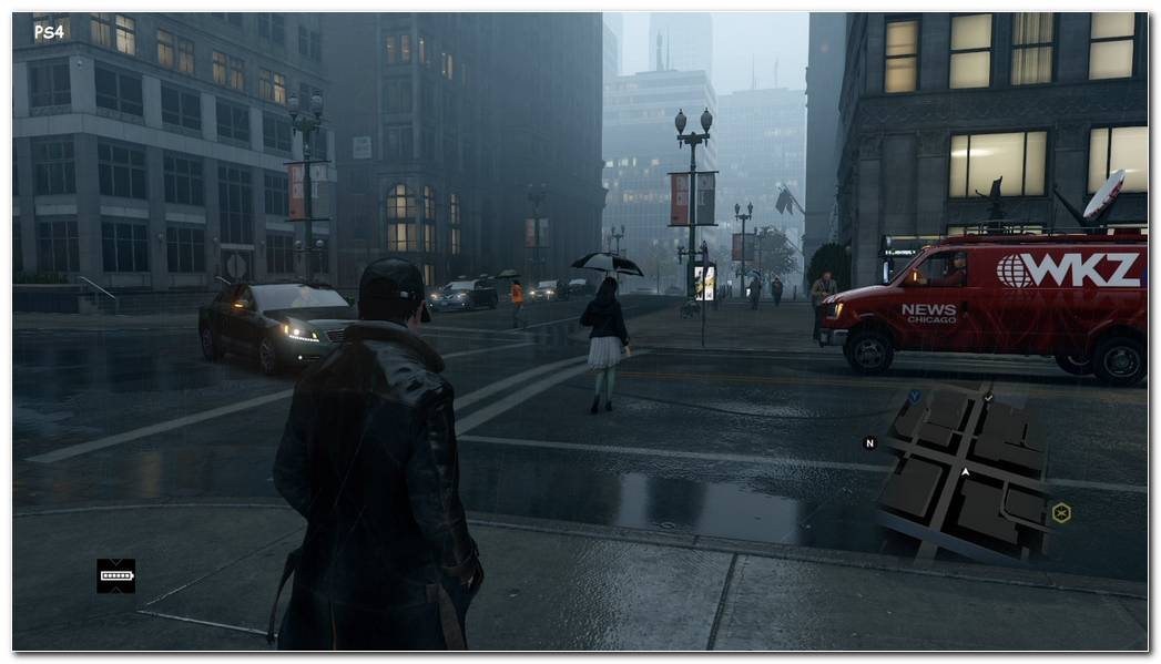 Watch Dogs Gameplay Background