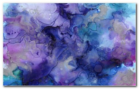 Watercolor Ink HD Wallpaper