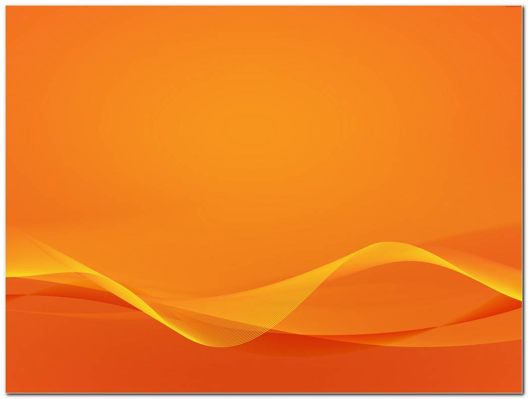 Wavy Orange Background Wallpapers