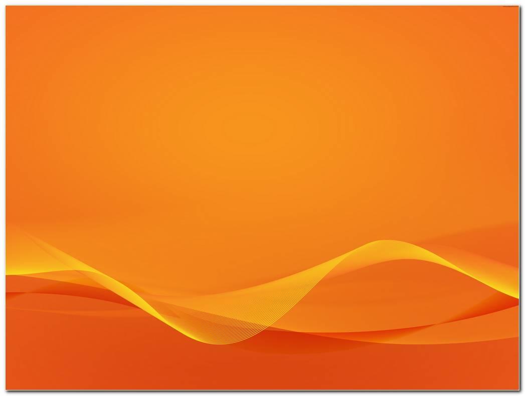 Wavy Orange Background Wallpapers