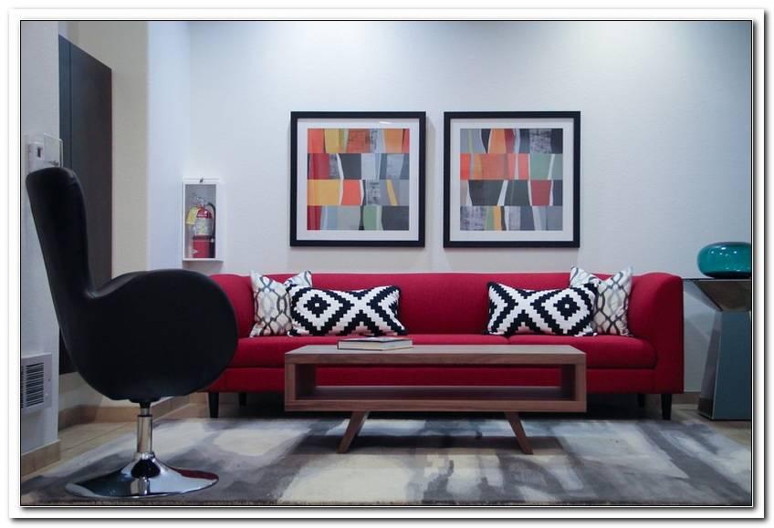 Welche Kissen Passen Zu Rotem Sofa