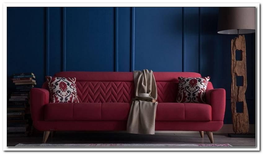Welche Kissen Zu Rotem Sofa