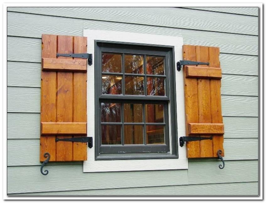 Welches Holz F?R Fensterladen