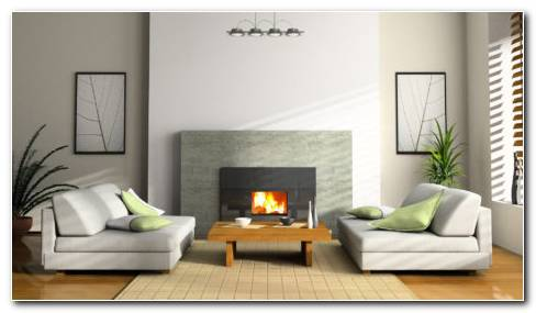 White 3D Interior HD Wallpaper