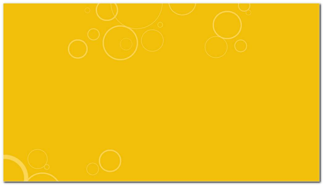 White Bubbles On Yellow Background Wallpaper