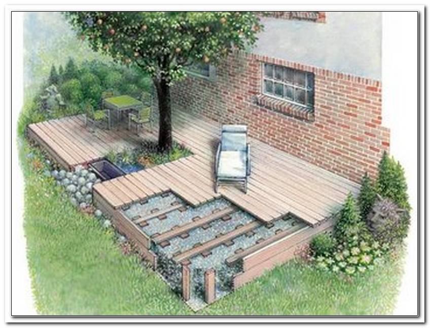 Wie Baue Ich Eine Terrasse Im Garten